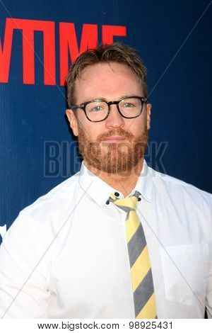 LOS ANGELES - AUG 10:  Josh Lawson at the CBS TCA Summer 2015 Party at the Pacific Design Center on August 10, 2015 in West Hollywood, CA