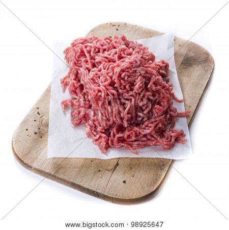 Minced Meat (isolated On White)