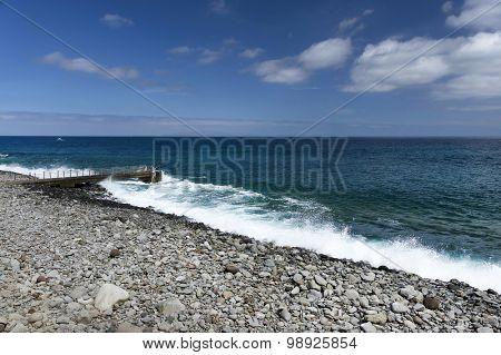 Atlantic coast of Madeira Island, Portugal, Europe