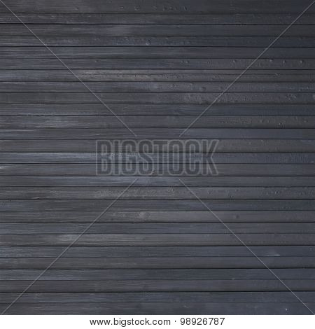 Black Wood Plank Background