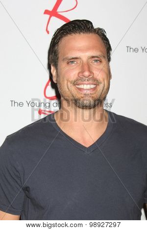 LOS ANGELES - AUG 15:  Joshua Morrow at the
