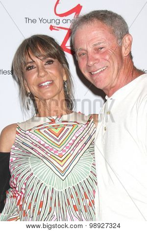 LOS ANGELES - AUG 15:  Jess Walton, Tristan Rogers at the