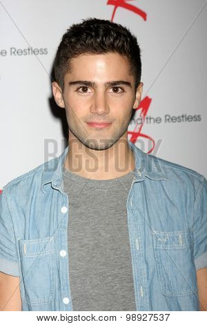 LOS ANGELES - AUG 15:  Max Ehrich at the
