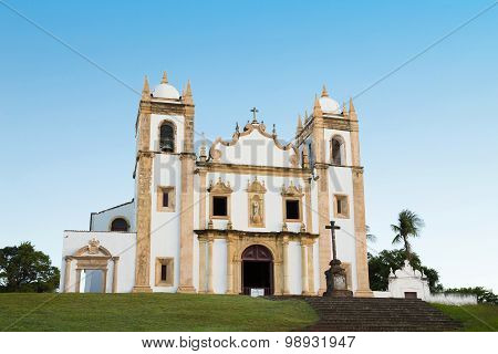 Church Of Saint Anthony Of Carmo in Brazil