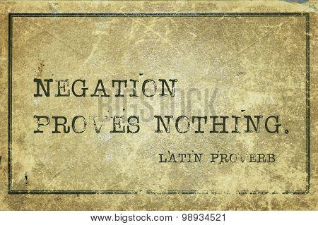 Negation Lp