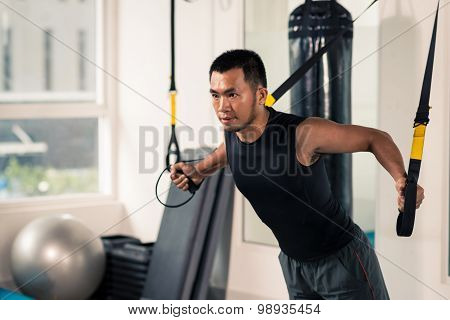 Fitness TRX training