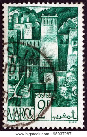 Postage Stamp French Morocco 1947 Mountain District