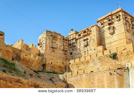 Golden Fort Of Jaisalmer, Rajasthan India
