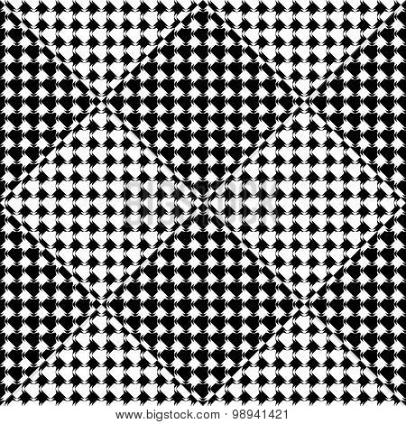 Design Seamless Diamond Geometric Pattern