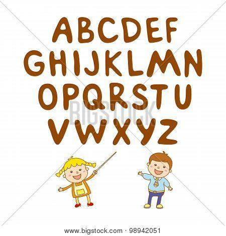 Kids School Art  Boy, Abc, Alphabet, Aducation,