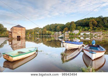 Lerryn River In Cornwall
