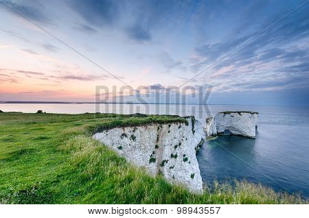 Old Harry Rocks In Dorset