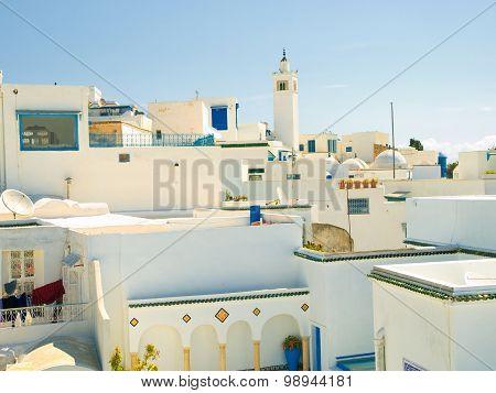 Sidi Bou Said Skyline, Tunisia