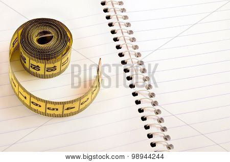 Notepad With Centimeter