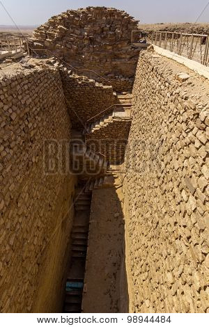 Djoser Tomb South Entrance