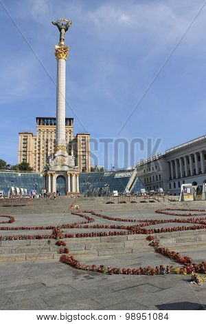 Independence monument in Kiev