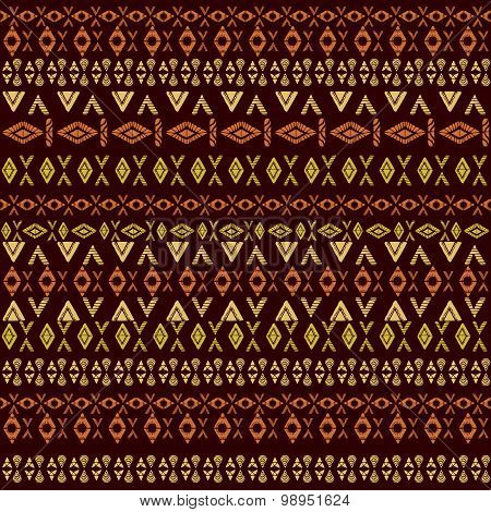 Ethnic african tribal pattern