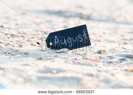 August Background