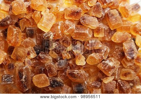 Brown Caramelized Sugar Background