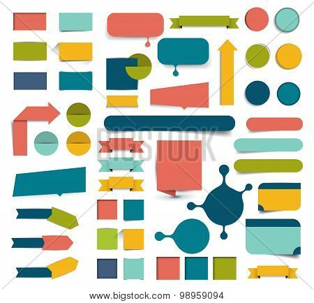 Collections Of Infographics Design Elements.
