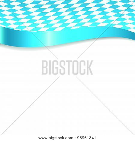 Banner In German And Bavarian Colors