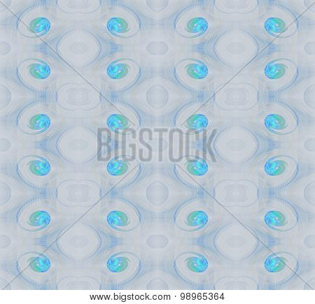 Seamless pattern turquoise gray