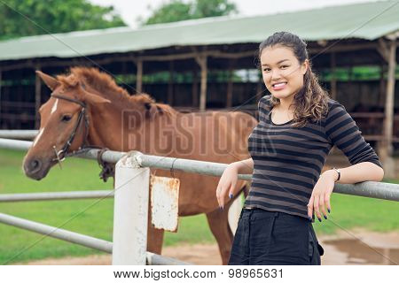 Teenage Cowgirl