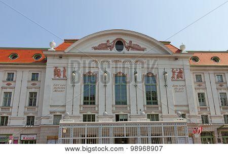 Concert Hall (konzerthaus, 1913) In Vienna, Austria