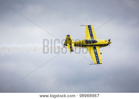 Gizycko, Poland - August 02: Mazury Airshow 2015 Event On August 02, 2015 In Gizycko, Poland