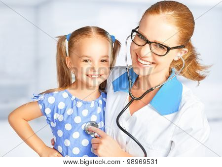 Doctor Pediatrician And Child Patient