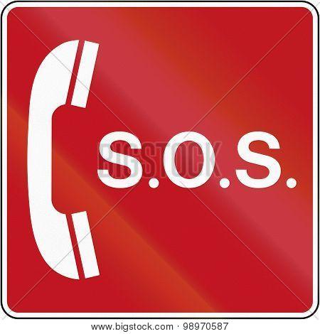 Emergency Telephone In Canada
