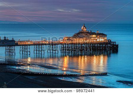 Brighton Pier, UK Twilight