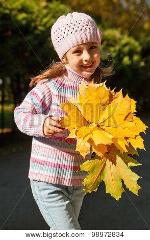 Girl In Autumn