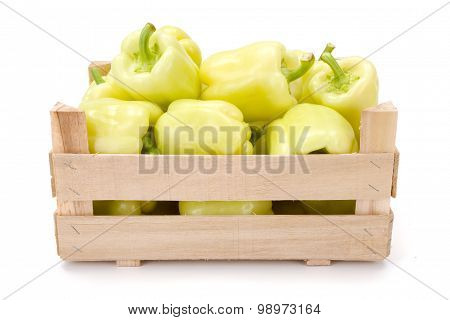 Yellow Bell Peppers (capsicum Annuum)