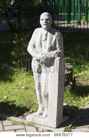 Sculpture at the Museum of Lenin