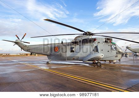 Spanish Navy Helicopter