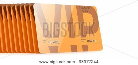 Cards Vip Discount Orange