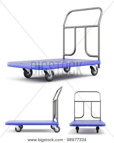 Transport Trolley With Different Species