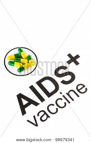 Science Research By Aids Oral Vaccine Capsule, Hiv