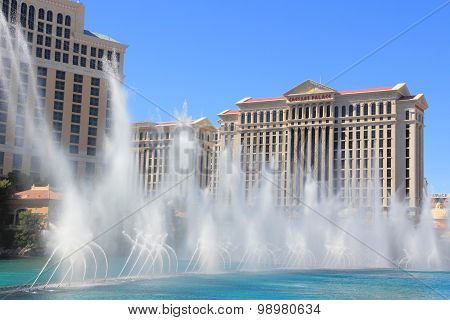 Las Vegas Fountains