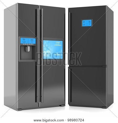 Refrigerators Black