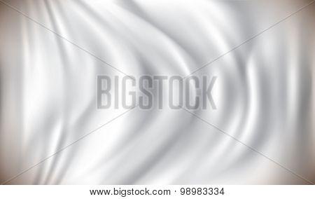 White Flag - vector illustration