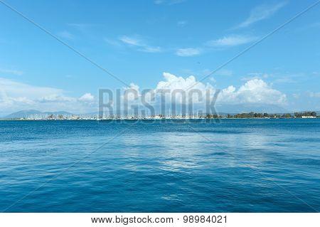 Summer Sea View From Beach (near Mytikas, Preveza, Greece)