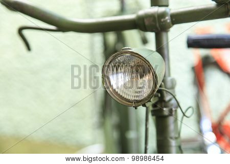 Detailed Vintage Bicycle