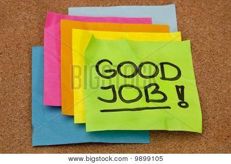 Good Job - Compliment