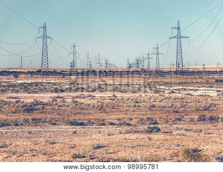 Power Lines Pylons