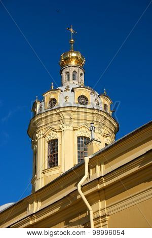 the Peter and Paul Cathedral