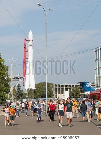 Yuri Gagarin Space Rocket