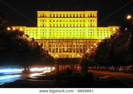 Palace of the Parliament, People's House, Bucharest, Romania