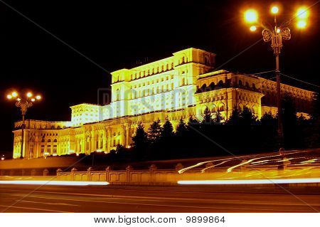 Bucharest People's House Romania
